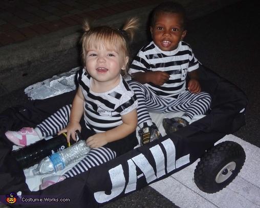 Cutest Jailbirds Ever!, Cops & Robbers Costume