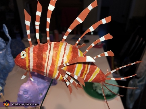 The lion fish!, Coral Reef Costume