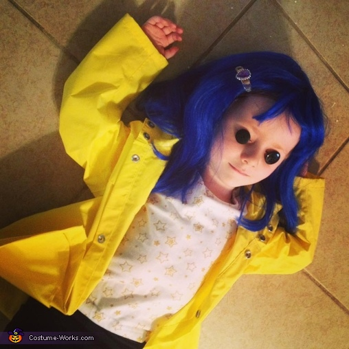 Coraline Girl S Halloween Costume