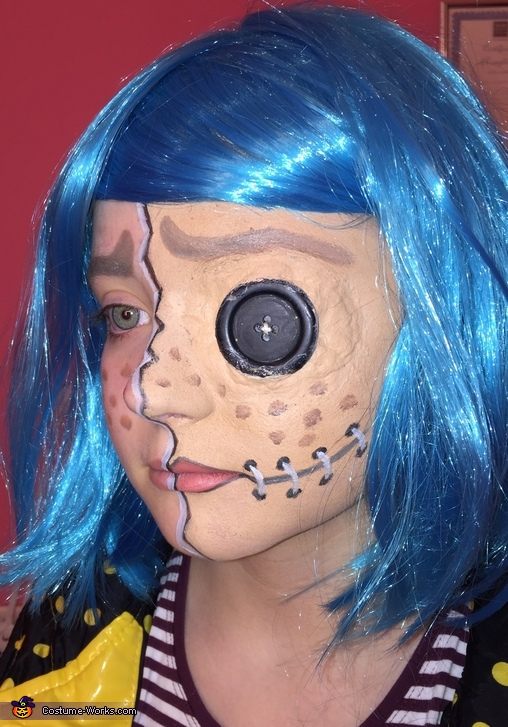 Coraline Halloween Costume Photo 2 2