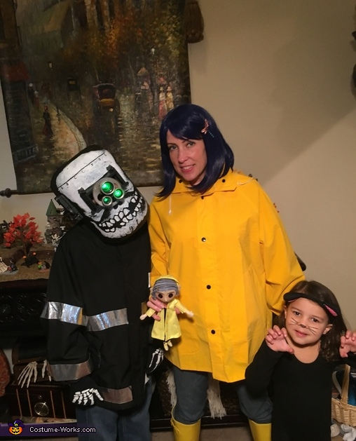 Coraline Family Halloween Costume