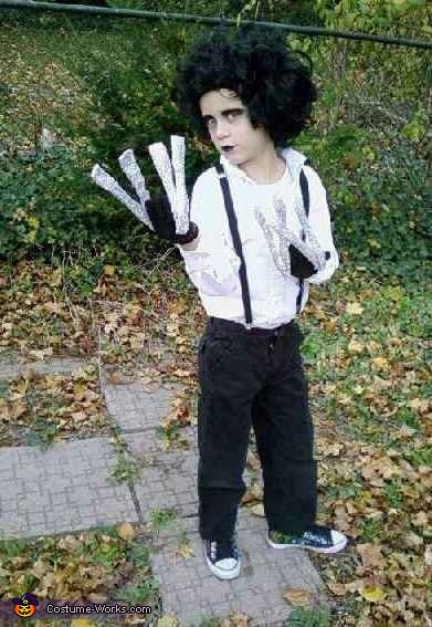 Edward Scissorhands, Coraline and the Other Mother Costume