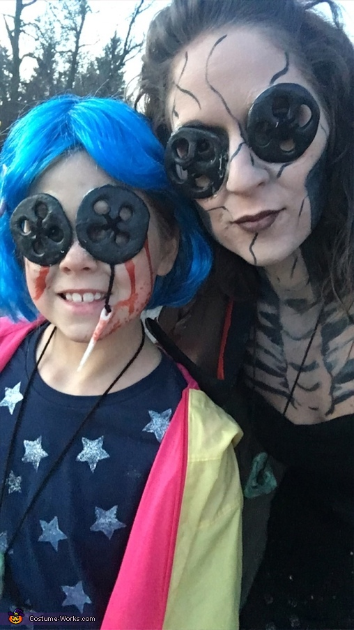 Coraline & the Other Mother, Coraline and The Other Mother Costume