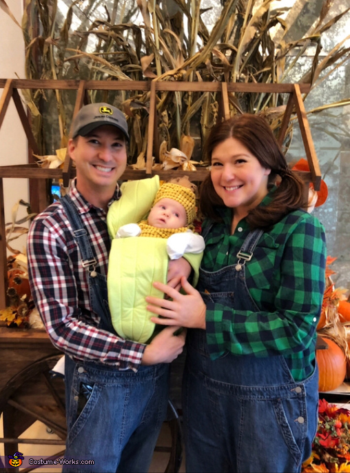 Corny Family Costume