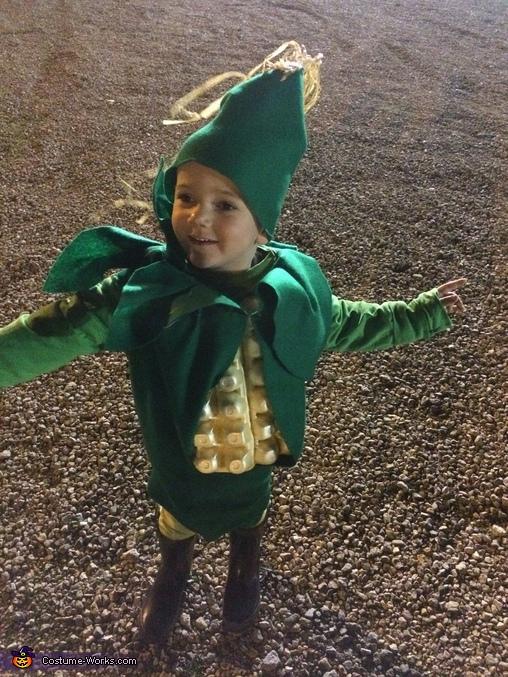 Corny Kid Homemade Costume