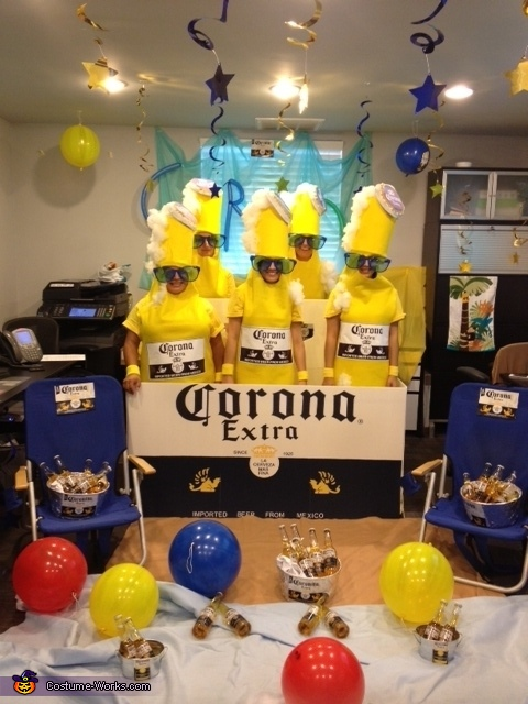 Coronas, Corona 6 Pack Group Costume