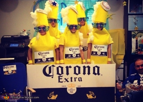 Coronitas, Corona 6 Pack Group Costume