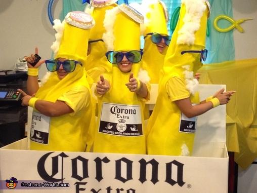 Corona 6 Pack Group Halloween Costume Photo 4 4
