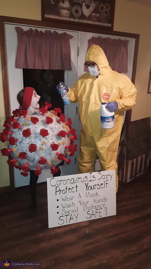 Coronavirus is SCARY Homemade Costume