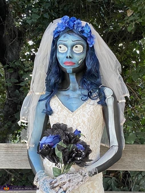 Close up Corpse Bride, Corpse Bride Costume