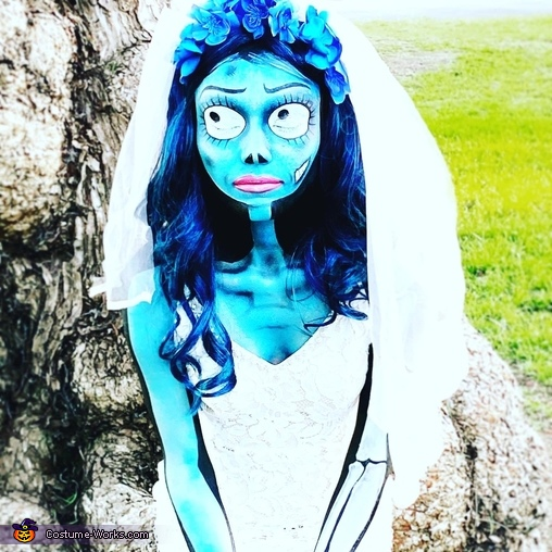 Cool effects on Corpse Bride, Corpse Bride Costume