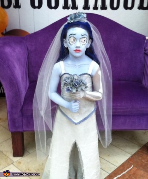Corpse Bride Costume For A Girl