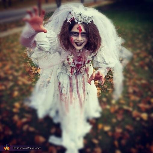 Original Homemade Corpse Bride Costume