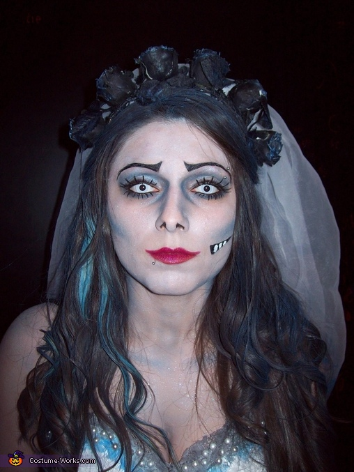 Corpse Bride Homemade Costume
