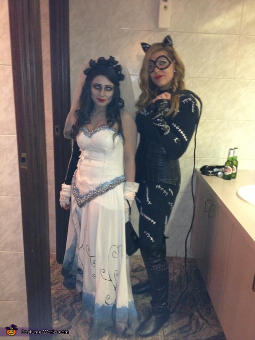 Homemade Corpse Bride Costume for Women