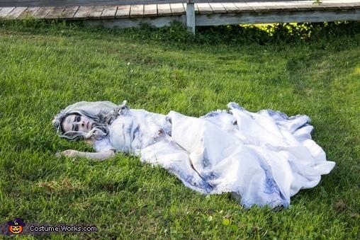 Resting Bride, Corpse Bride Costume