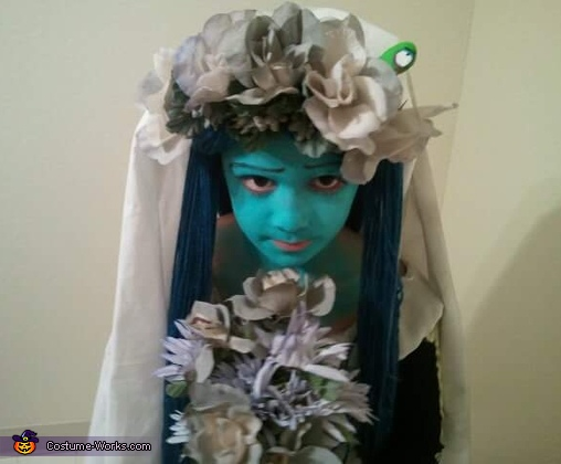 Corpse Bride Girl's Costume