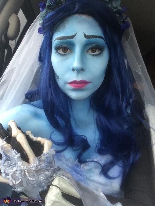 Corpse Bride: Emily Detail, Corpse Bride Costume