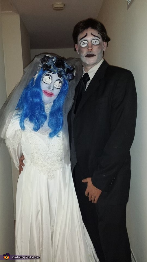 Corpse Bride and her Groom Costume
