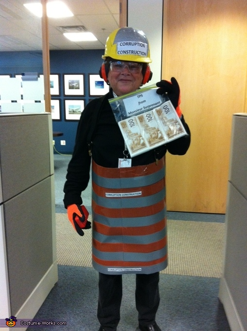 Corruption Construction Costume