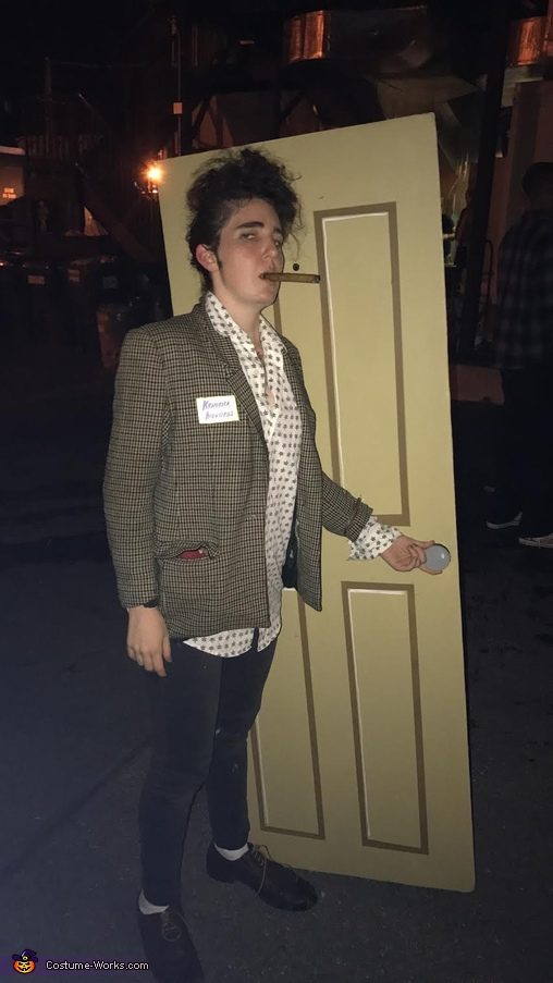 Kramerica Industries ready to party, Cosmo Kramer Costume