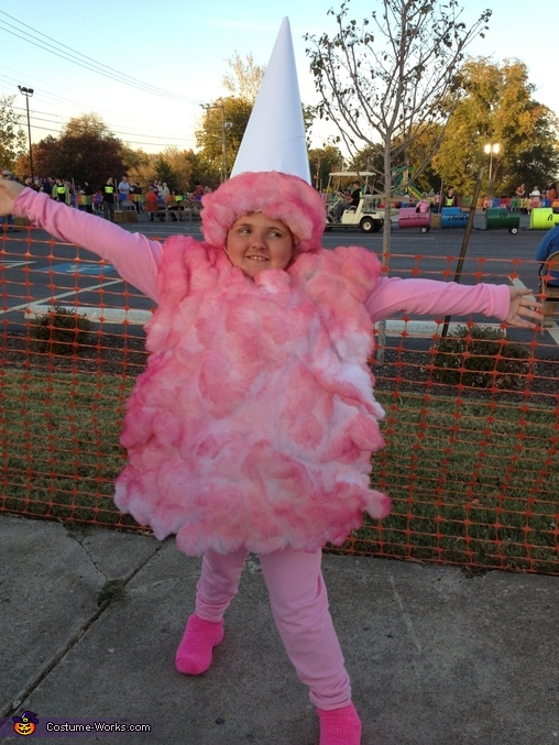 Cotton Candy - Homemade costumes for girls