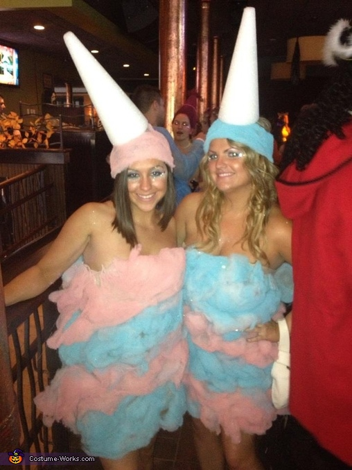 Cotton Candy Homemade Costume