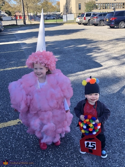 Cotton Candy and Gum Ball Machine Costume