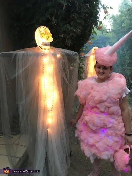 Cotton Candy Dream Homemade Costume