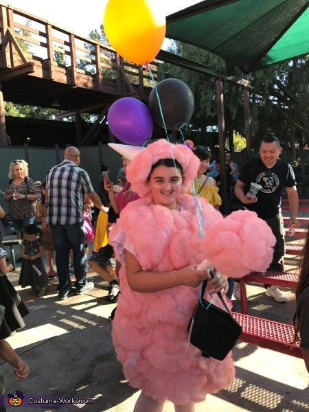 Cotton Candy Dream Homemade Costume