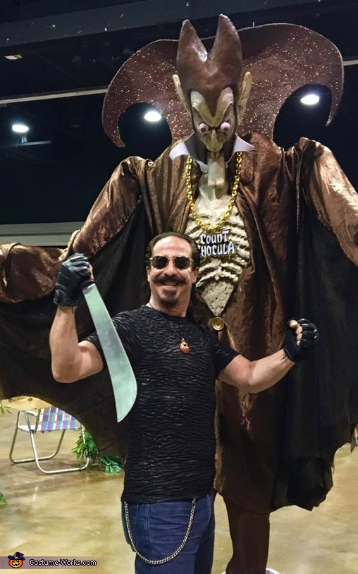 The Count with Ari Lehman, Count Chocula Costume