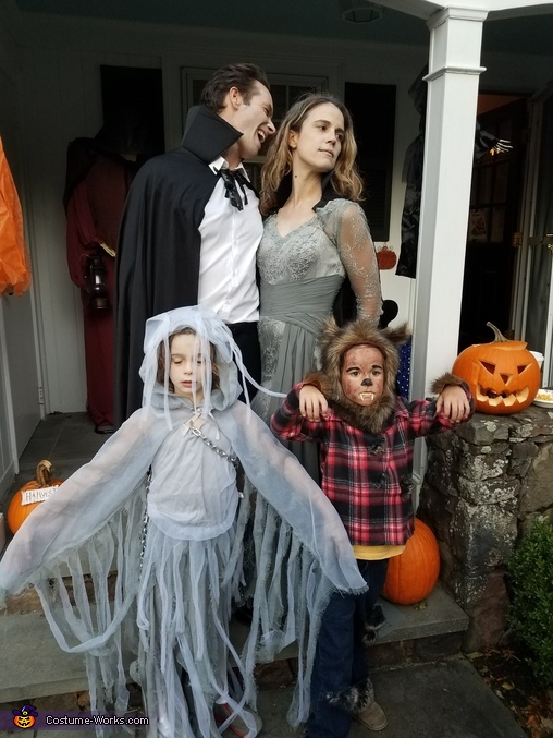 Count Dracula's Family Costume
