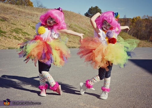 dancin in the street, Couple of Clowns Costume