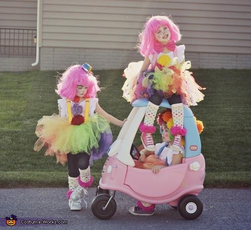 Couple o' Clowns Homemade Costume