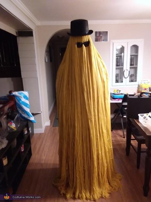 Cousin It Costume