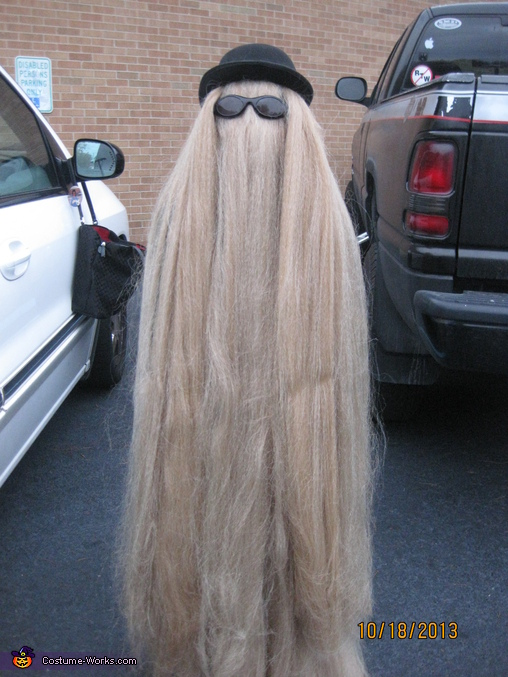 Cousin It Addams Family Costume