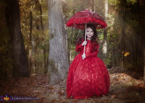 Vampire, Couture Vampire Costume
