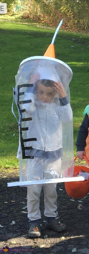 Covid-19 Vaccine Homemade Costume