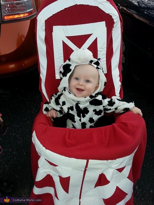 Cow in a Barn Baby Costume  sc 1 st  Costume Works & Cow in a Barn Baby Halloween Costume
