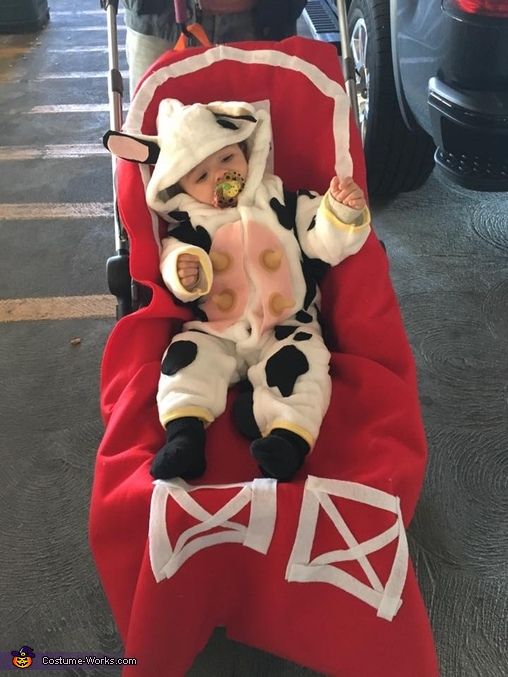 Cow in the Barn Costume
