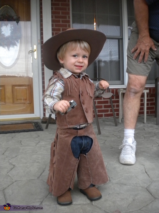 Cowboy - Homemade costumes for babies