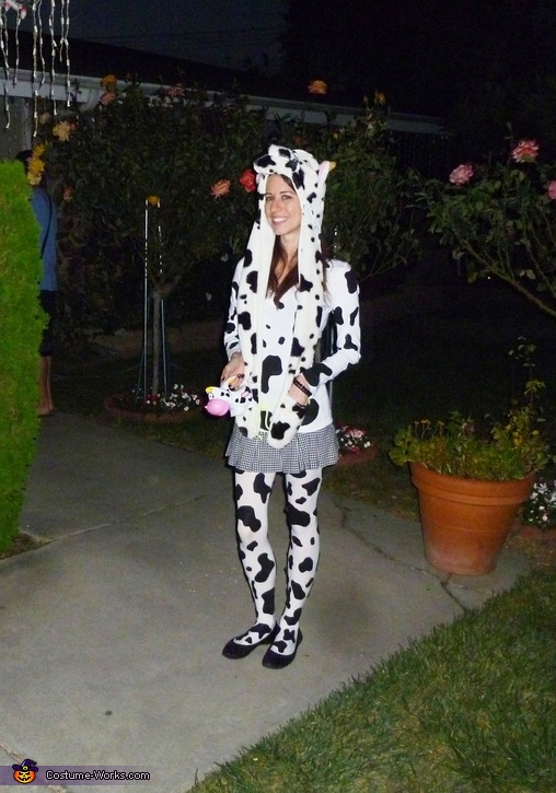 Moooooo, Cowboy & Girl Cow Costume