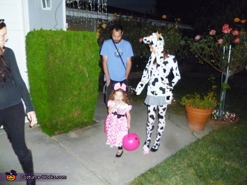 Cow Girl or Girl Cow?, Cowboy & Girl Cow Costume