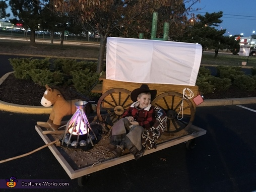Westward bound, Cowboy on the Trail Costume
