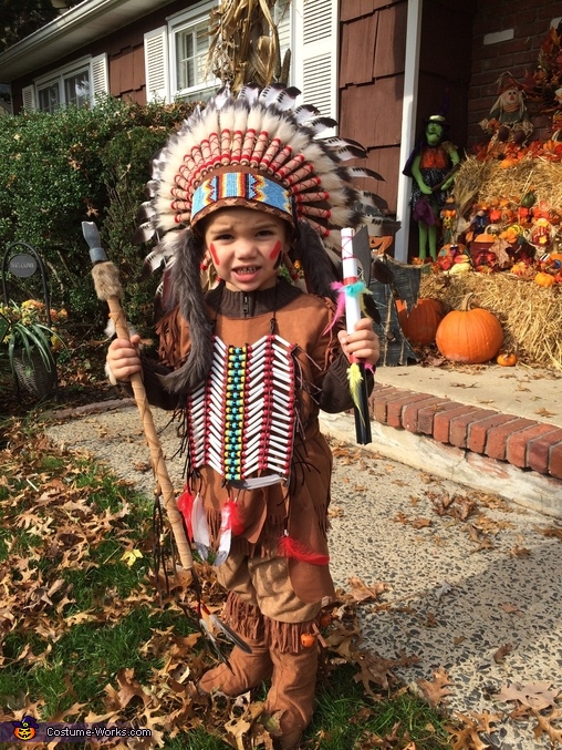 Indian chief , Cowboys and Indians Costume