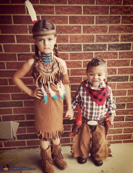 Cowboys and Indians Costume