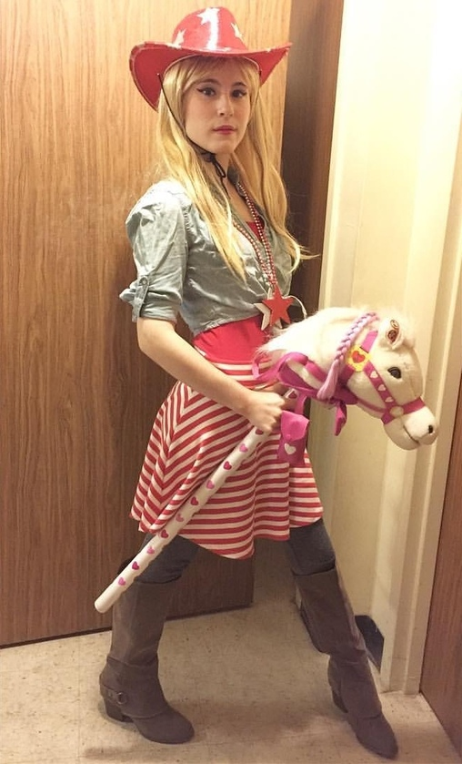 Cowgirl Homemade Costume