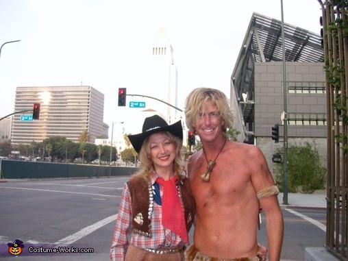 Me and Tarzan, Cowgirl Costume