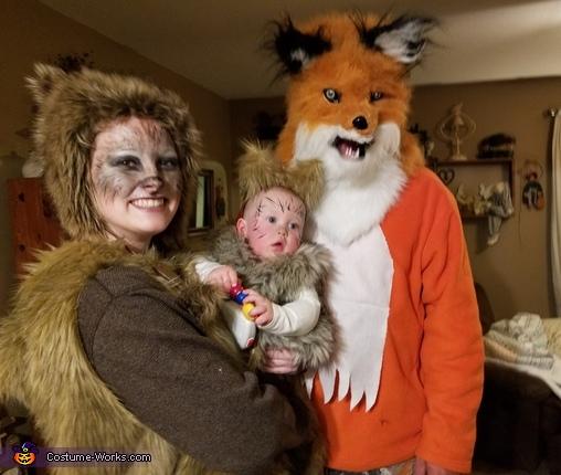 Wild canines, Coyote Wild Costume