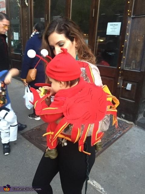 Crabby Baby Homemade Costume